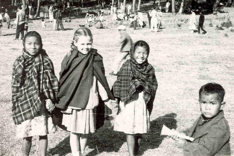 Joan - New Year's 1965 Shillong Peak, India