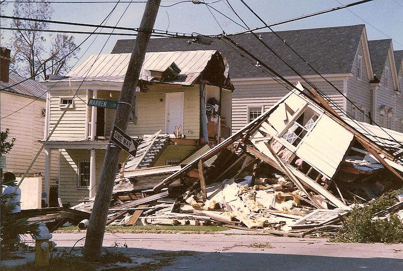 Hurricane Hugo<br /> Coming St.<br /> Charleston