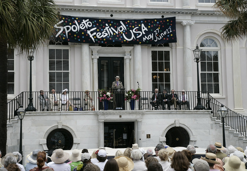 Spoleto Festival USA 2011 ~ Opening remarks by Fred Child <br /> ~ Images by Martin McKenzie ~ All Rights Reserved