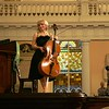 Cellist Natalia Khoma concludes her performance of the first three of Bach's Solo Cello Suites.  Her June 8, 2010 recital was part of the 2010 Piccolo Spoleto Early Music Spotlight series and was performed at the First Scots Presbyterian Church in Charleston, SC.<br /> <br /> Image by Martin McKenzie ~ All Rights Reserved