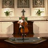 Cellist Natalia Khoma, in rehearsal as Steve Rosenberg, Chair of the Department of Music at the College of Charleston, listens.  Dr. Khoma performed as part of the 2010 Piccolo Spoleto Early Music Spotlight series.  The concert was held on June 8, 2010 at the First Scots Presbyterian Church in Charleston, SC where she played Bach's Solo Cello Suites.<br /> <br /> Image by Martin McKenzie ~ All Rights Reserved