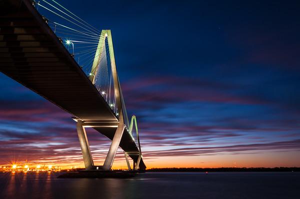 Ravenel Bridge Sunset 34