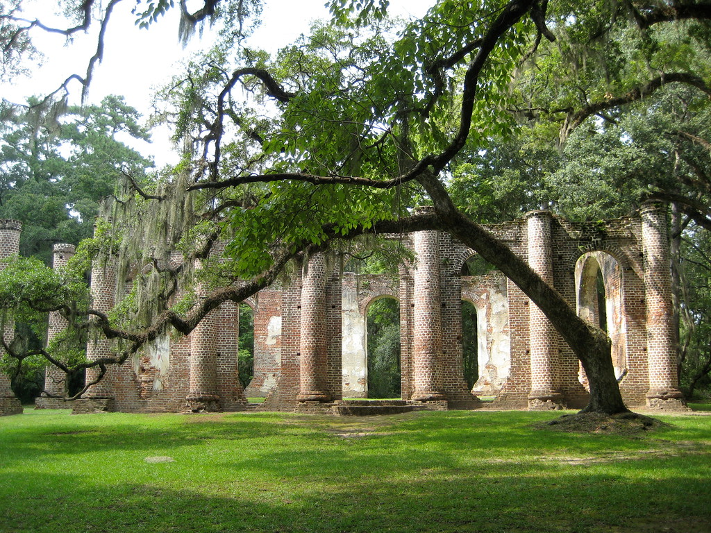 Old Sheldon Church Ruins, Beaufort