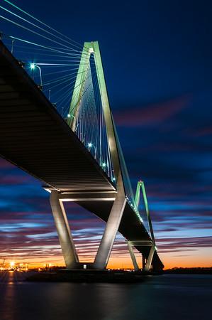 Ravenel Bridge Sunset 33