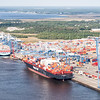 Container Ships docked at the Wando Welch Terminal