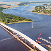 New Bridge under construction, SC Highway 41