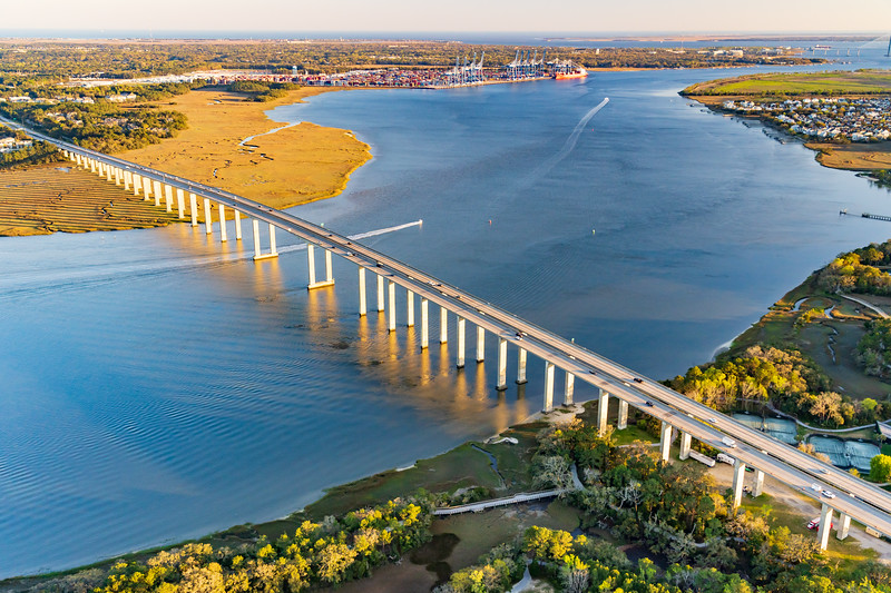 James B. Edward Bridge over the Wando River