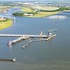 Kinder Morgan facility, Cooper River and Marina, and shipyard Creek,