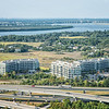 Tidelands Condominiums and Arthur Ravenel Bridge
