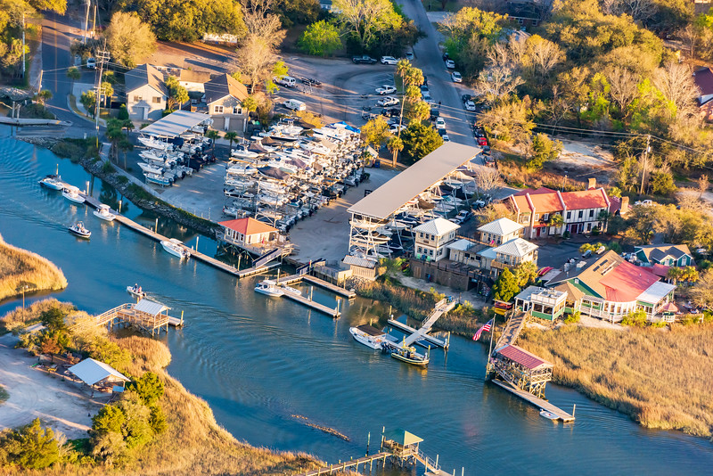 Shem Creek Marina and Shem Creek Bar and Grill