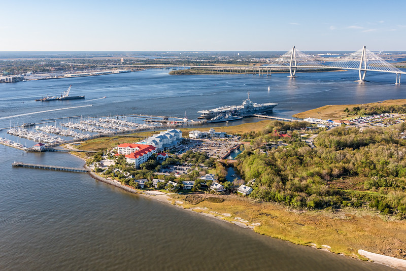 Harbor Resort Marina and Patriots point