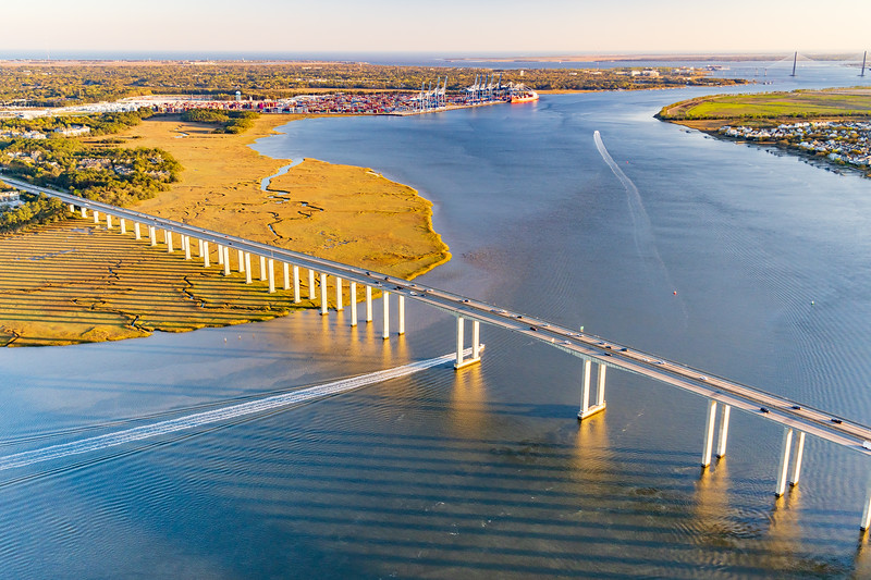 James B. Edward Bridge over the Wando River