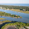 Sullivan's Island and the Intracoastal Waterway, SC