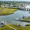 Shem Creek and Coleman Boulevard