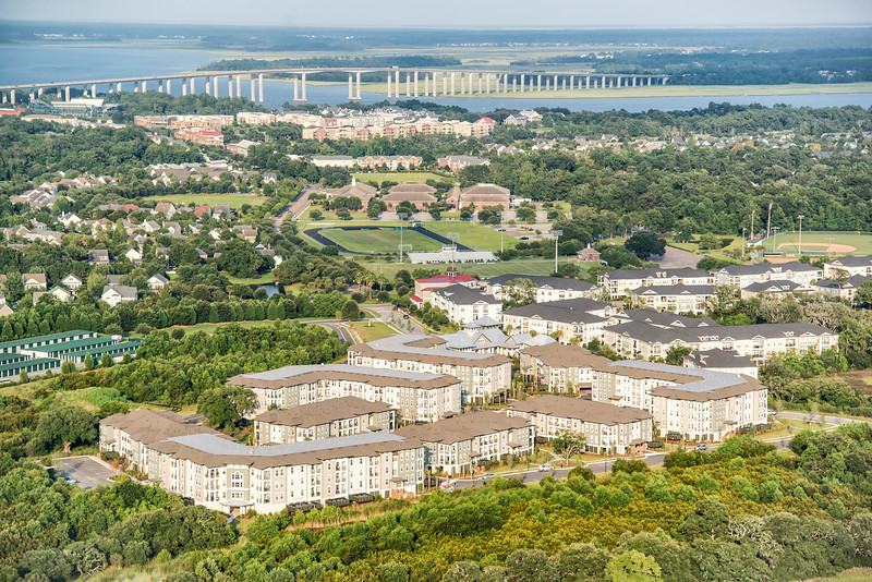Daniel Island Village Apartments, Bishop England High School and Etiwan Park