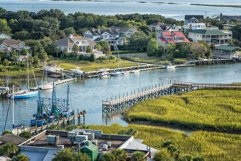 Vickery's and Shem Creek