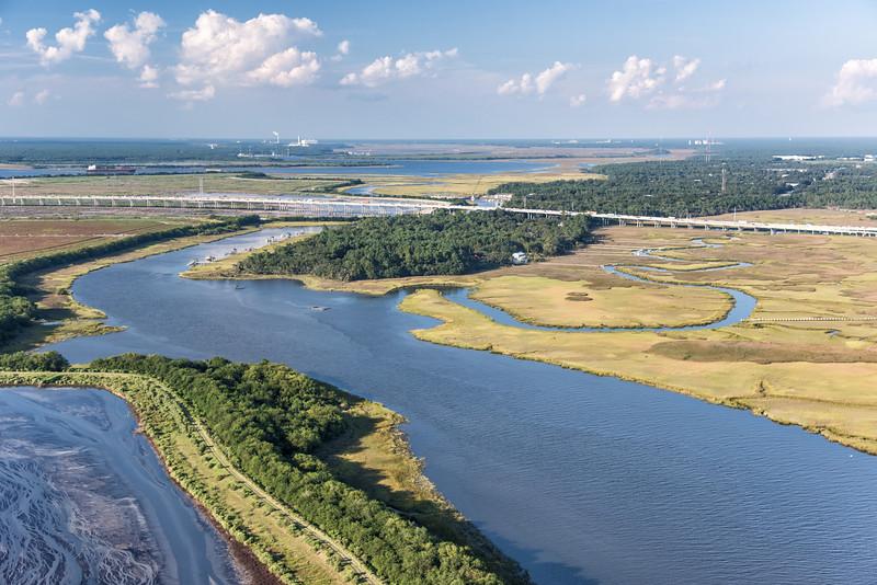 Mark Clark Expressway and Daniel Island