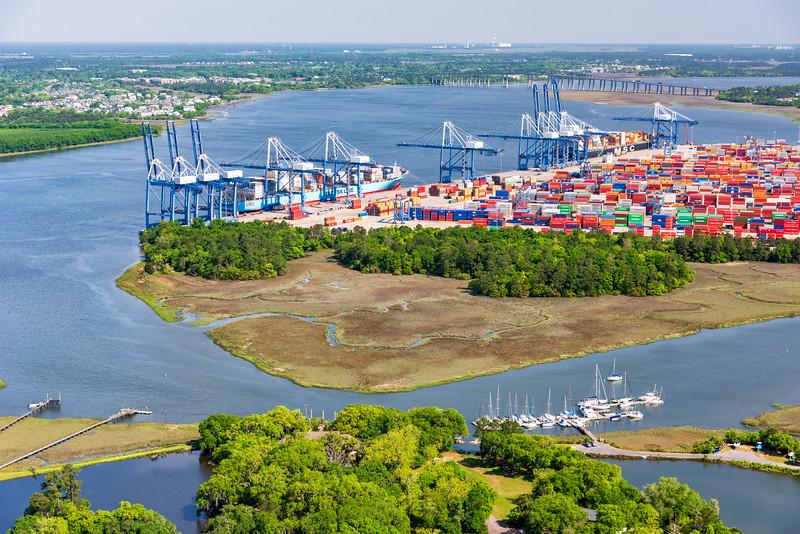 Wando River Container Terminal
