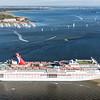 Carnival Cruise Ship Ecstasy Leaving Charleston