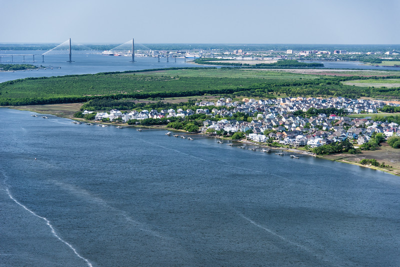 Wando River and Daniel Island, Charleston SC
