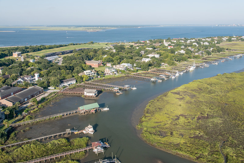 Intracoastal Waterway, Sullivan's Island