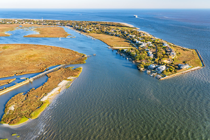 Old Pitt Street Bridge and the Intracoatal Waterway