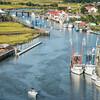 Shem Creek Park, restaurants and boating
