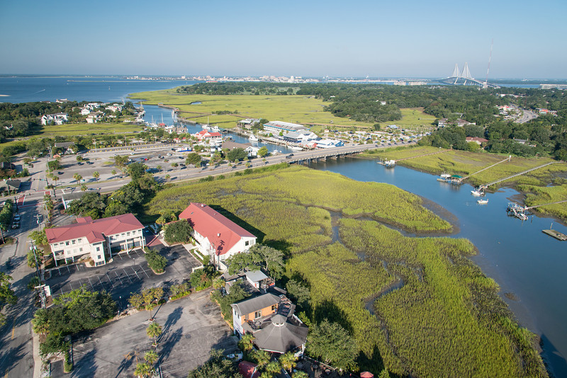 Shem Creek and Coleman Blvd, Mount Pleasant