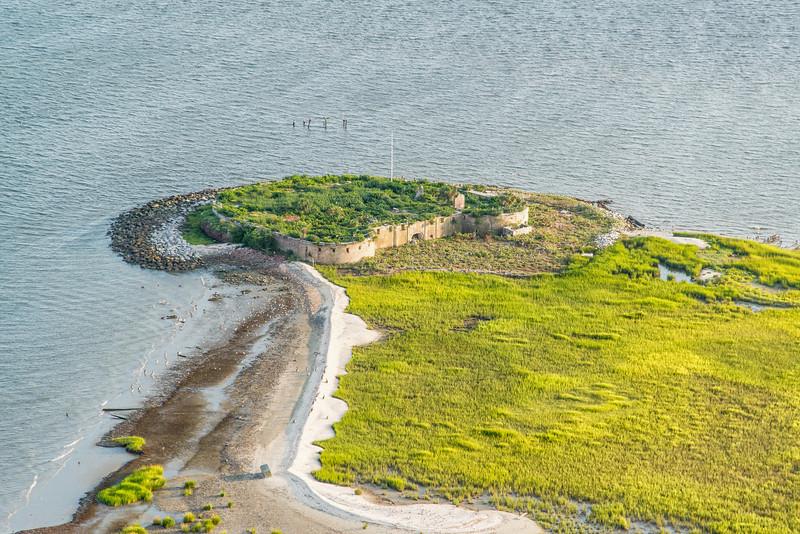 Castle Pinckney, Charleston harbor, SC
