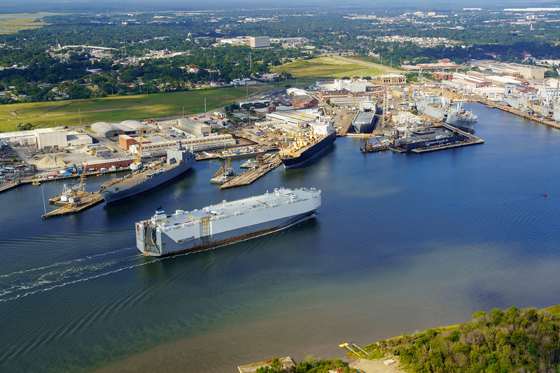 Commercial Shipping and Detyens Shipyards