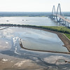 Drum Island, Cooper River and The Arthur Ravenel Bridge