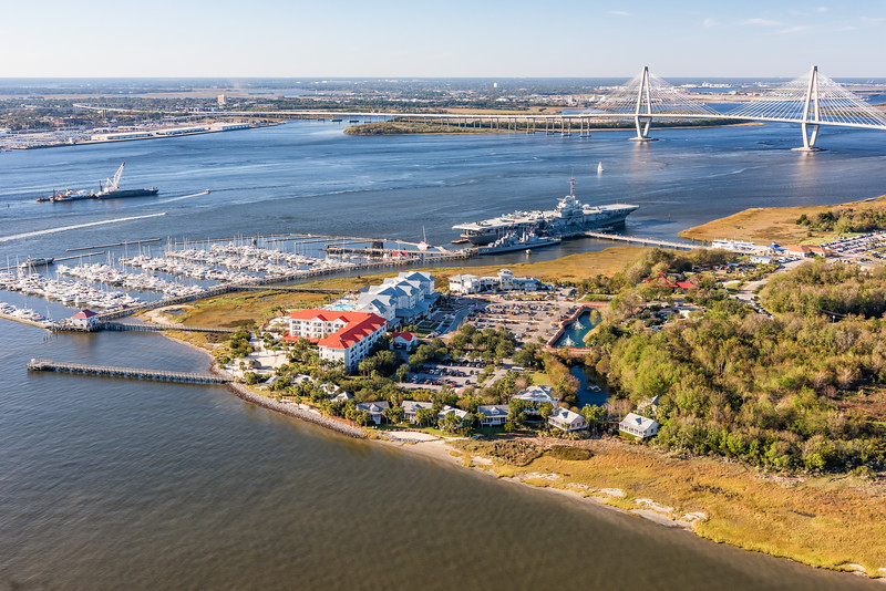 Harbor Resort Marina and Patriots point