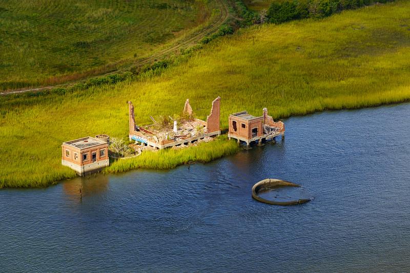 Brick Ruins, Cooper River