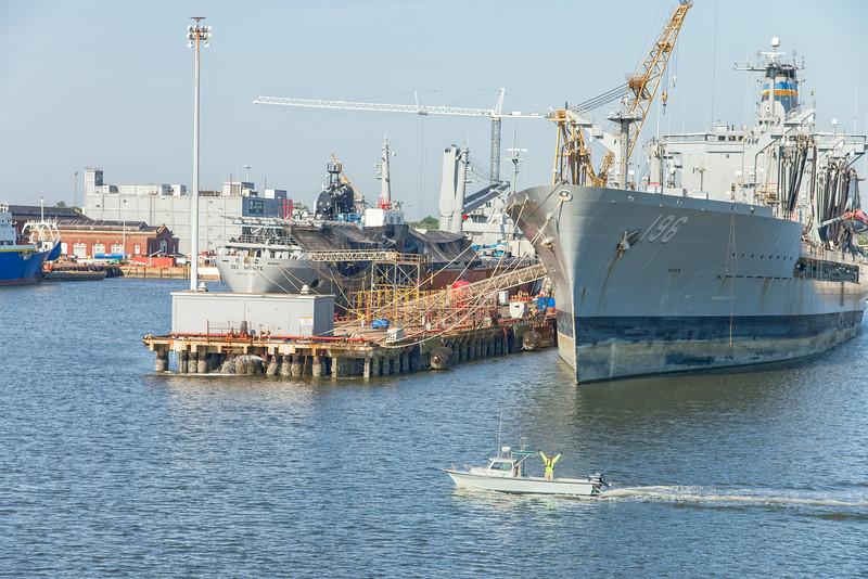 Detyens Shipyards and GEL hydro survey vessel