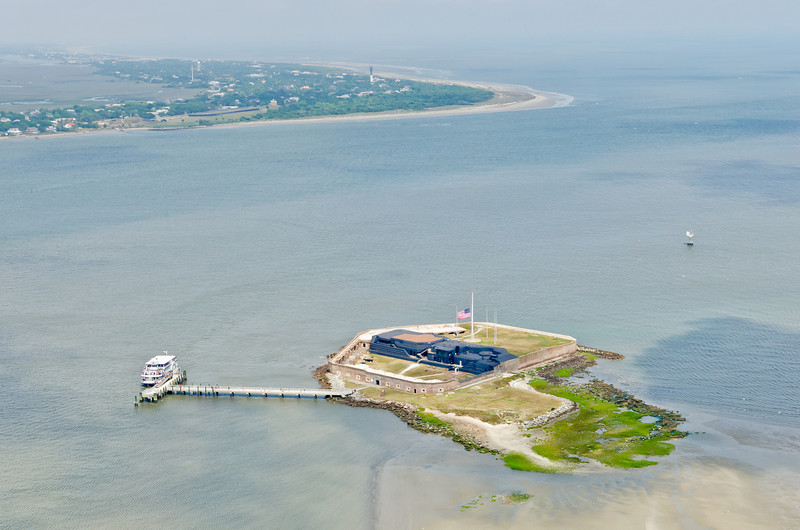Fort Sumter, Charleston harbor