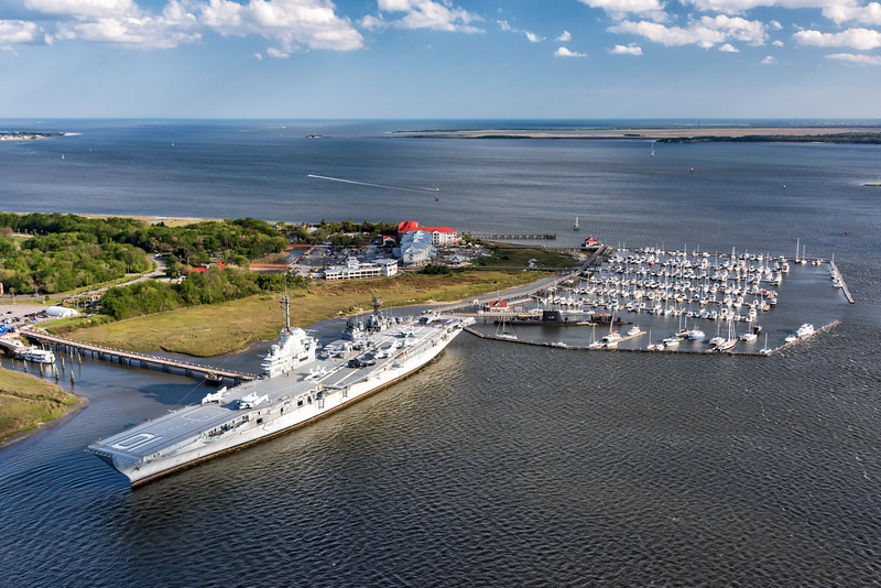 The Yorktown aircraft carrier, Patriot's Point
