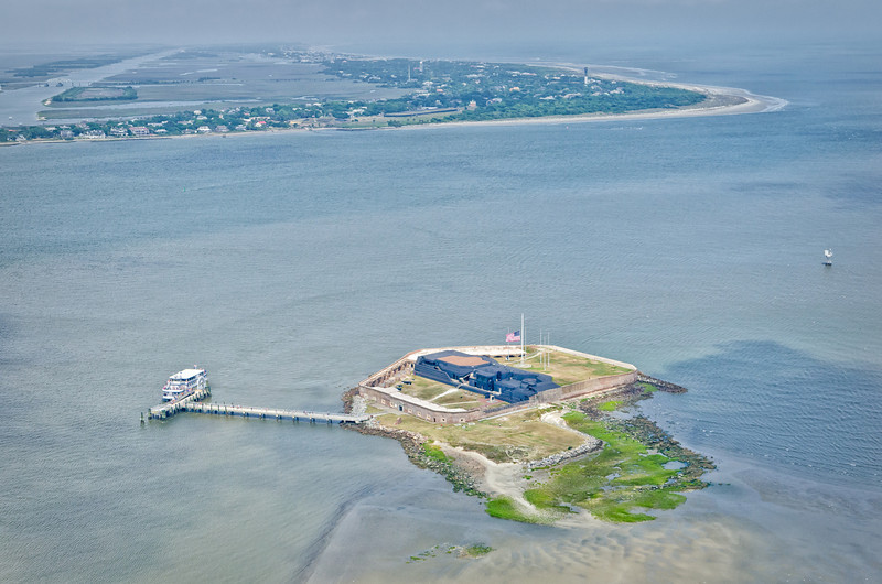 Fort Sumter, Charleston harbor