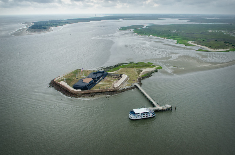 Fort Sumter and Morris Island