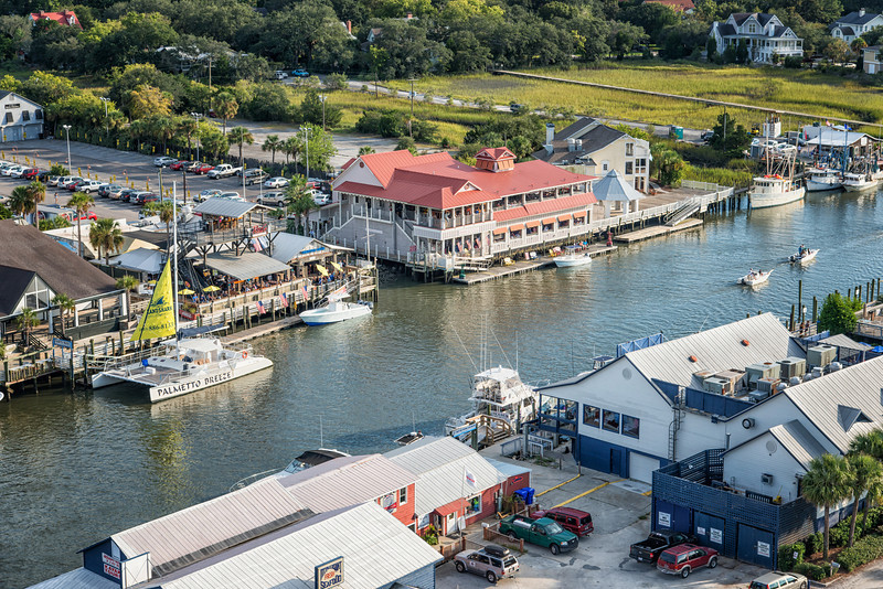 RB's Restaurant, Red's Ice House, Lighthouse on the Creek, Shem Creek