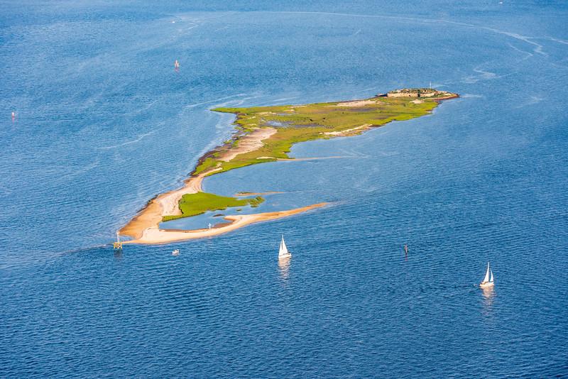 Castle Pinckney & Shute's Folly Island