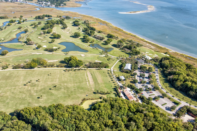 Patriot's Point Links with Shem Creek and Crab Bank