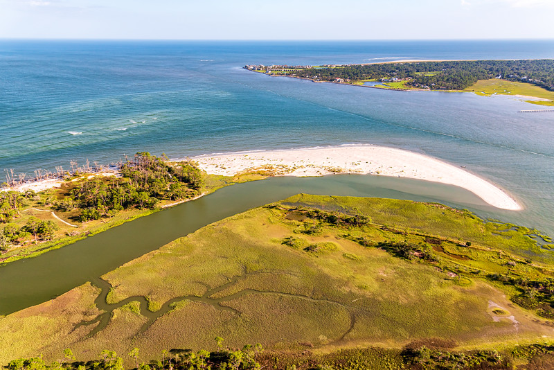Hunting Island State Park and Fripp Island