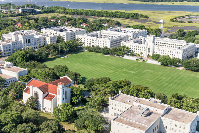 The Citadel Military College Campus and Summerall Chapel