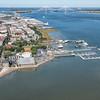 East Bay Street and Charleston Harbor
