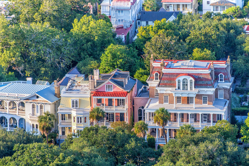 Mansions on South Battery, Charleston, SC