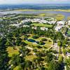 Hampton Park, The Citadel, and the Ashley River