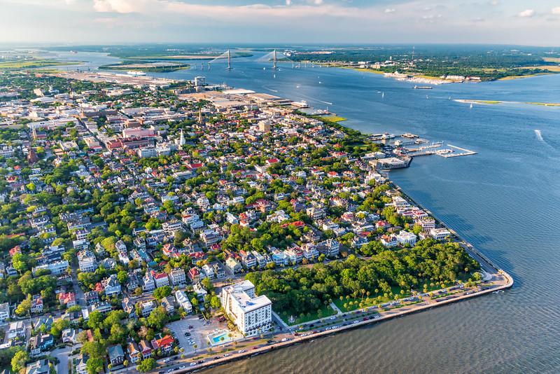 Charleston Peninsula and Harbor