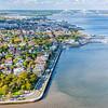 White Point Gardens, Charleston Battery and harbor