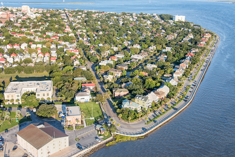Tradd Street, Murray Boulevard, and the Charleston Peninsula