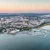 Twilight over downtown Historic Charleston